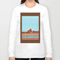 canada Long Sleeve T-shirts featuring Canada. by Grant Pearce