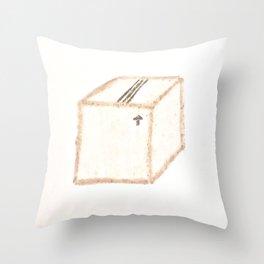 My Box Throw Pillow