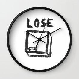 LOSE CTRL. Wall Clock