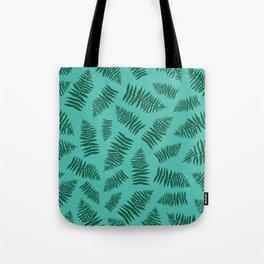 FERN PATTERN {seafoam} Tote Bag