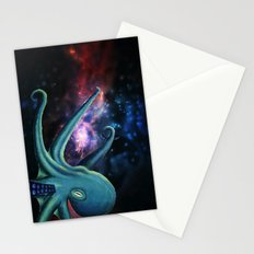 octopus astronaut  Stationery Cards
