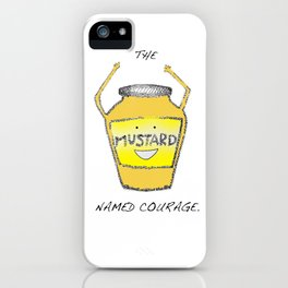 Muster the Courage! iPhone Case