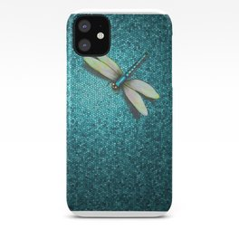 Dragonfly Mosaic iPhone Case