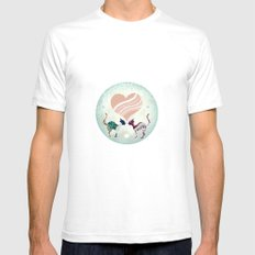 CatLove SMALL Mens Fitted Tee White