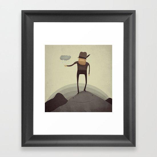 Hey Squirt!  Framed Art Print