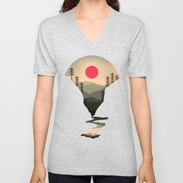 Exploring Earth Unisex V-Neck