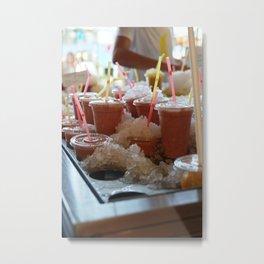 Drink it - Summer is Coming Metal Print