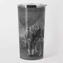 Signing The Declaration of Independence Travel Mug