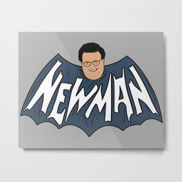 Hello Newman Metal Print