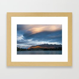 queesntown, new zealand Framed Art Print