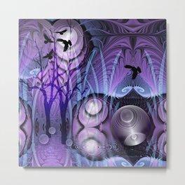 Magical Swamp Metal Print