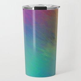 colorful hand drawn abstract Travel Mug
