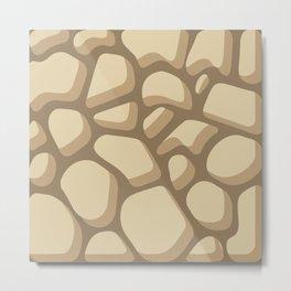Pattern of painted stones #2 Metal Print