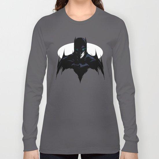 Caped Crusader Long Sleeve T-shirt