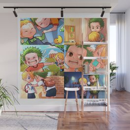 ZoSan Brother Story Wall Mural