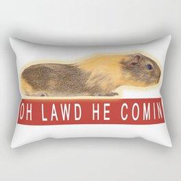 Funny Chonk Guinea Pig Meme Rectangular Pillow