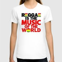 reggae T-shirts featuring Reggae Music by Ahfimi Brands
