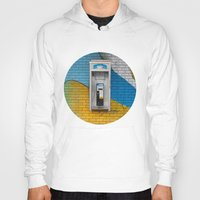 telephone Hoodies featuring Telephone by RMK Photography