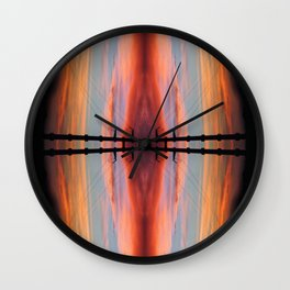 Sky within Wall Clock