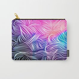 Bright Illusion Carry-All Pouch