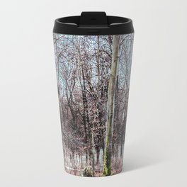 Red leaves and freckles. Can I call you redheads, dear trees? Travel Mug