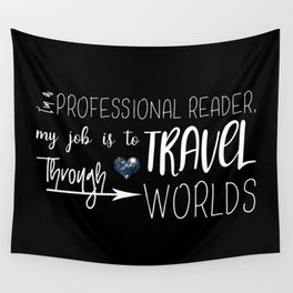 Professional Reader Wall Tapestry