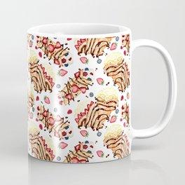 Berry Crepes with Chocolate and Cream Coffee Mug