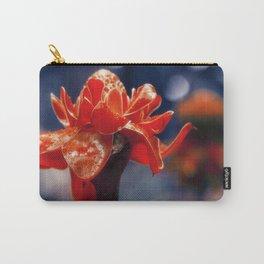Caribbean Garden Flower Carry-All Pouch