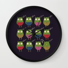 First day of school Wall Clock