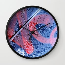 Urban Abstract 104 - frosted! Wall Clock