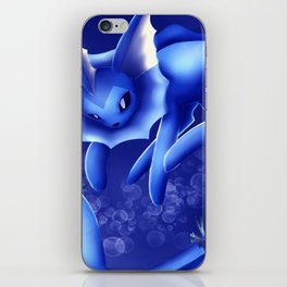 Vaporeon iPhone Skin
