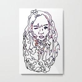 Gangzzz Metal Print