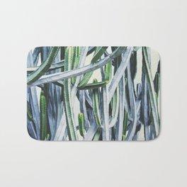 Green Crush Cactus I Bath Mat