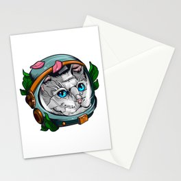 Spacecat Stationery Cards