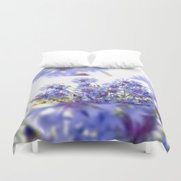 Cornflower and chamomile many flowers Duvet Cover