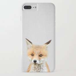 Baby Fox - Colorful iPhone Case