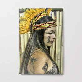 Natural beauty (no retouch) Metal Print