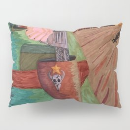 Draw.. Pilgrim Pillow Sham