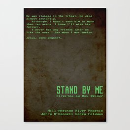 Stand by Me Canvas Print