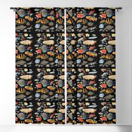 Freshwater tropical fish Blackout Curtain
