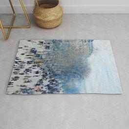 Claude Monet - Boulevard Des Capucines Rug