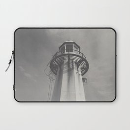 St Ives Harbour Lighthouse, Cornwall Laptop Sleeve