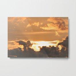Coucher de soleil Metal Print