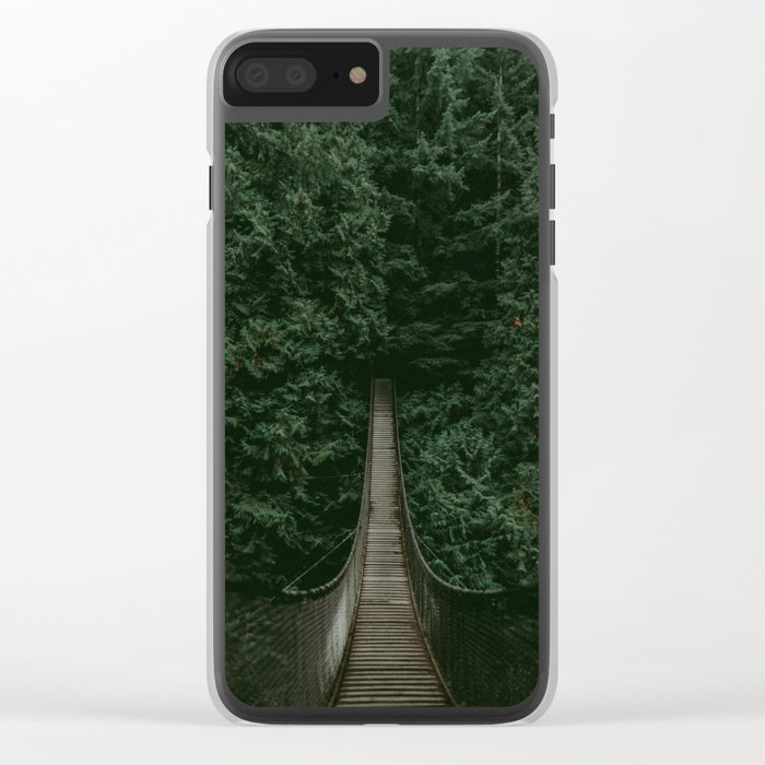 Into the Wilderness Clear iPhone Case