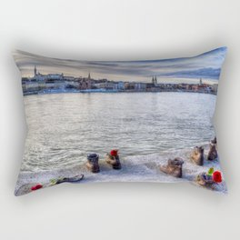 Shoes On The Danube Rectangular Pillow