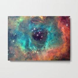 Colorful Nebula Galaxy Metal Print
