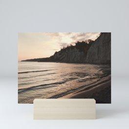 Scarborough Bluffs on October 10th, 2020. VII Mini Art Print
