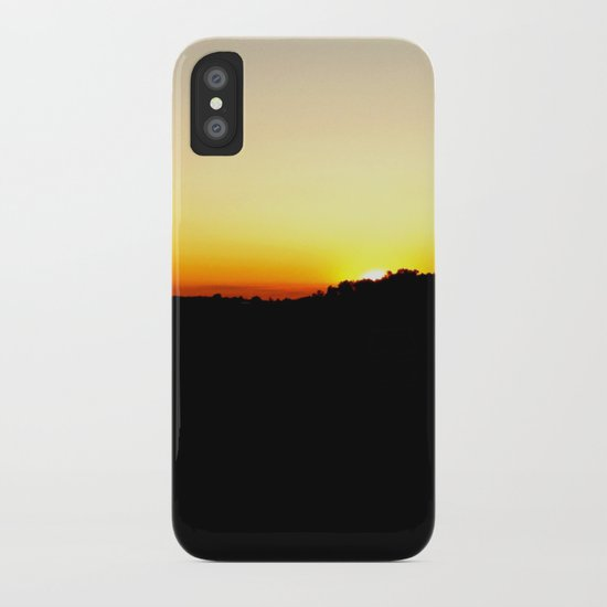 Warm Sunset iPhone Case