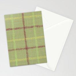 'Well Plaid' - Green Tartan Stationery Cards