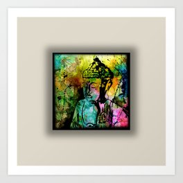 Buddha Love No.11-2018 by Kathy Morton Sta Art Print
